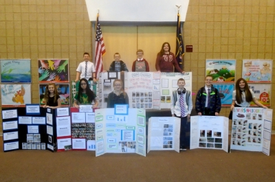 West Haven students experienced great success at the District Science Fair