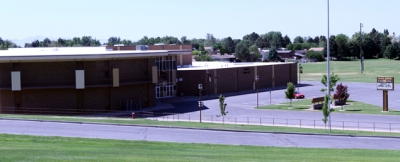 Picture of Sand Ridge Junior High.