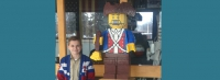 5000-Lego Minuteman donated to T. H. Bell as student's Eagle Project