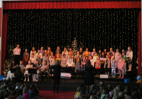 Orchard Springs students perform a Choir Concert