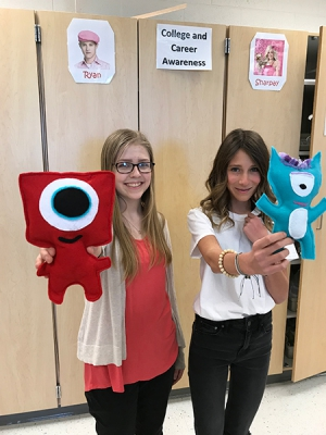 Orion FACS students make stuffed animals for patients at Primary Children's Hospital