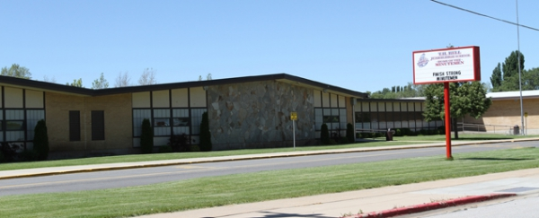 Picture of T H Bell Junior High School.