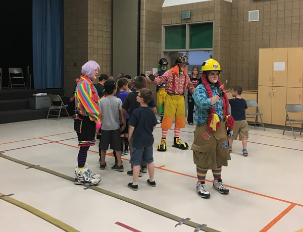 Roy City Fire Department hosts the Safety Olympics at West Haven Elementary