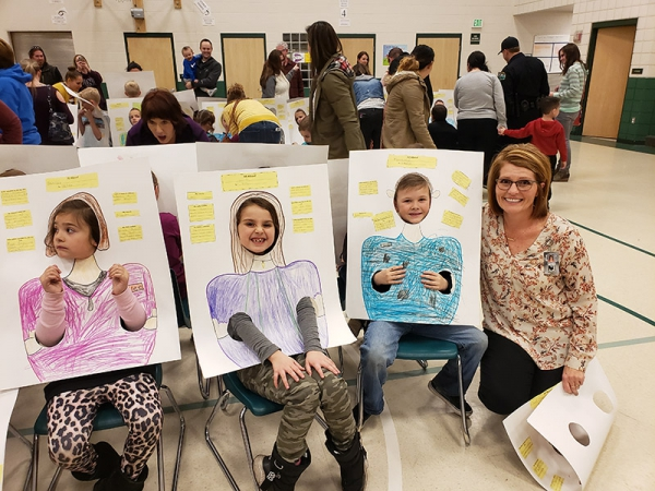 Majestic Elementary 2nd-Grade Holds Annual Community Workers Faces Event