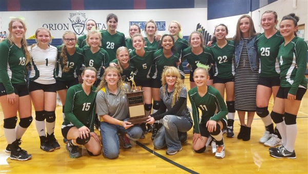 Wahlquist wins Junior High Volleyball Championship