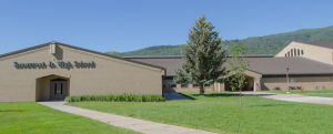 Picture of Snowcrest Junior High School.