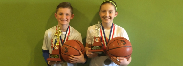 West Haven Students take 1st and 2nd place in State Hoop Shoot; Next round in Las Vegas!