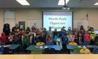 "North Park recognizes all students are Wonders, with classes reading ""Wonder"" and activities focused on acceptance in the Library"