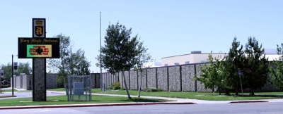 Picture of Roy High School.