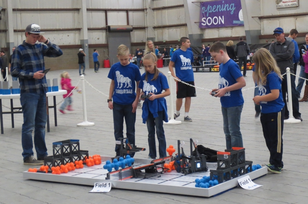 Kanesville Elementary's Robotics team performs well at state VEX competition