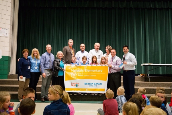 Majestic Recognized as Imagine Learning Beacon School