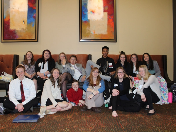 Bonneville students Competing in STATE HOSA