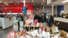 The Royal Food Pantry received a huge 2,376.50 pound donation from the VASA Fitness in Clinton