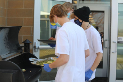 Weber School District foods students remotely compete in first annual Smoke-Off