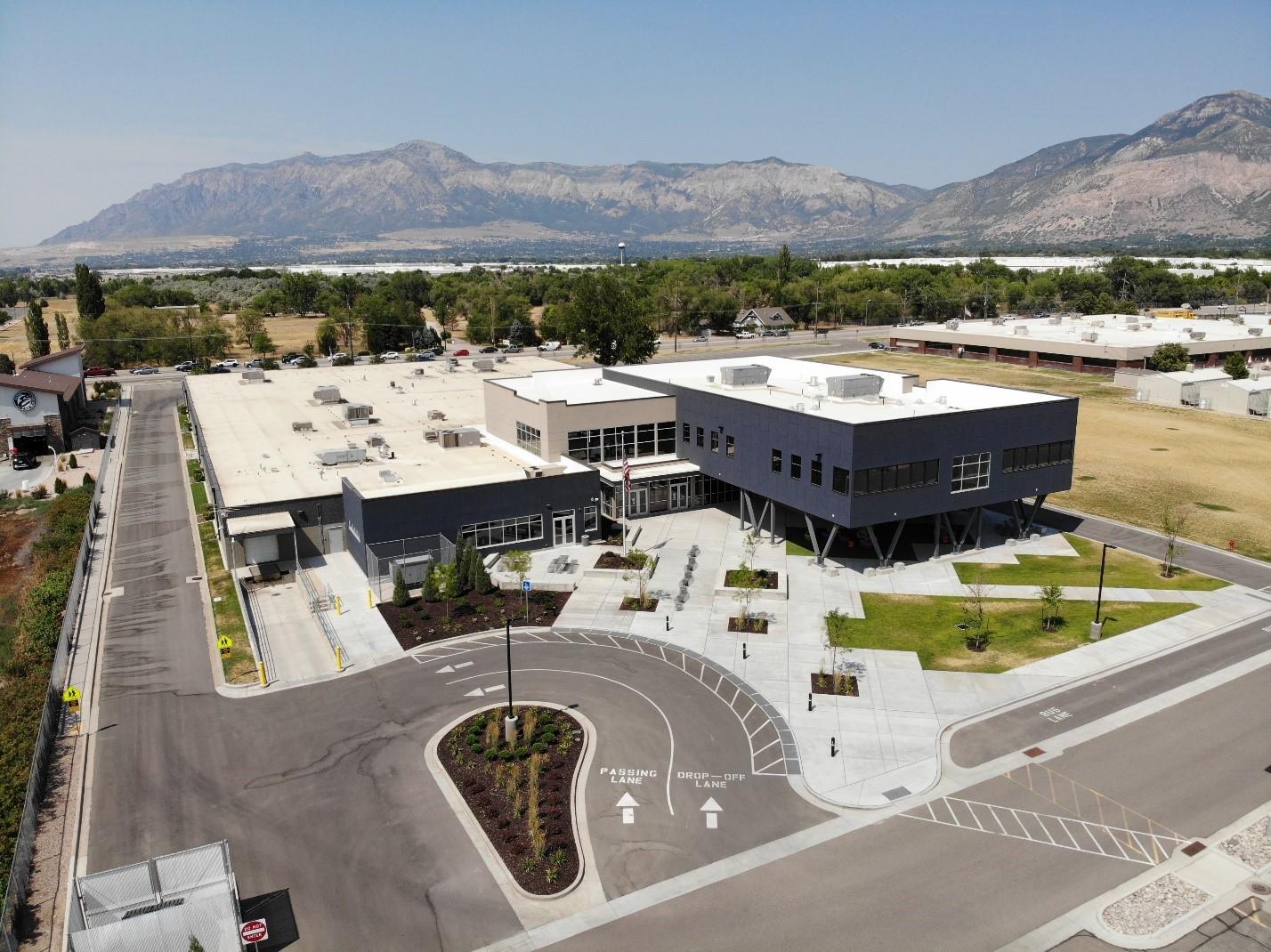 Aerial photo of Weber Innovation Center