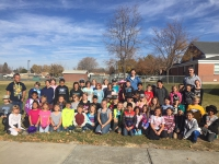 Lakeview 3rd & 4th grade students spend morning with channel 4 & 5 weather station crews