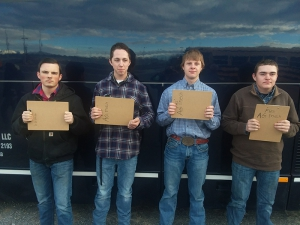 Fremont Future Farmers of America Students competed in Tooele at the Deseret Peak Contest