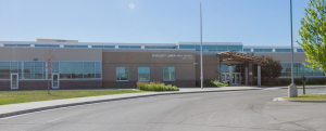 Picture of Wahlquist Junior High School.