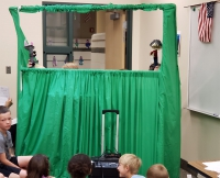 Students perform in Majestic Elementary 2nd grade's annual fairy tale puppet show