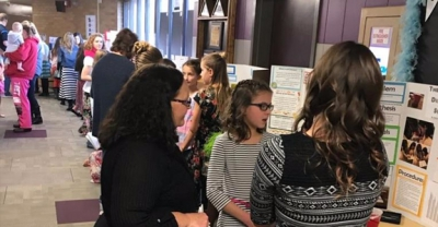 Valley View Students Participate in Science Fair
