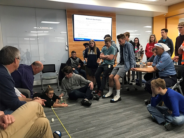 Weber School District Career Technical Education Visits Kimberly Clark