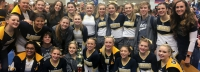 Bonneville Cheer takes 2nd Place at their state competition