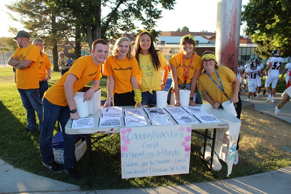 Bonneville HOSA raises money for the National Pediatric Cancer Foundation