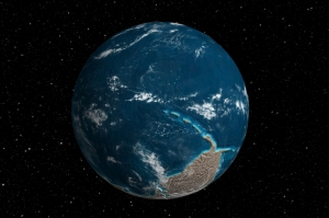 Ancient Earth Globe