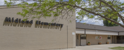 Picture of Midland Elementary School.