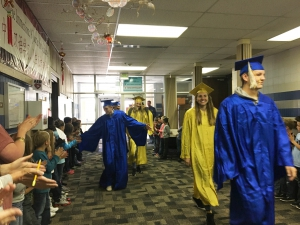 Bonneville High graduates get Uintah Elementary students excited about graduating