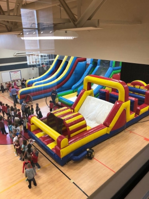 North Park moves Field day inside due to weather