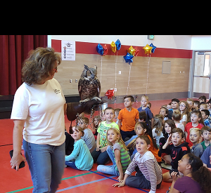 Orchard Springs Elementary holds Owl Assembly