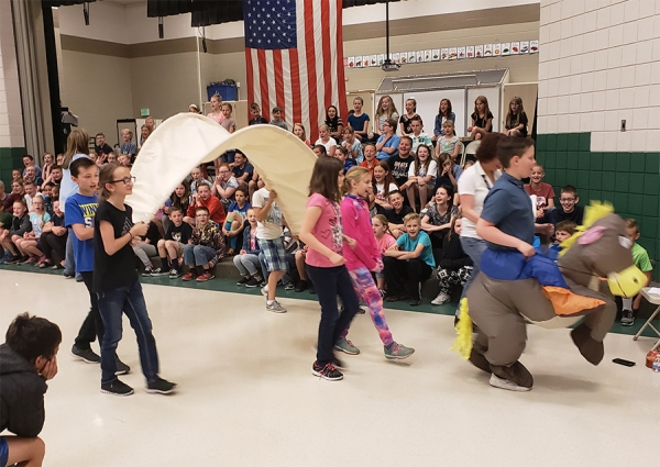 Majestic 5th graders performed songs about US History and being a good citizen